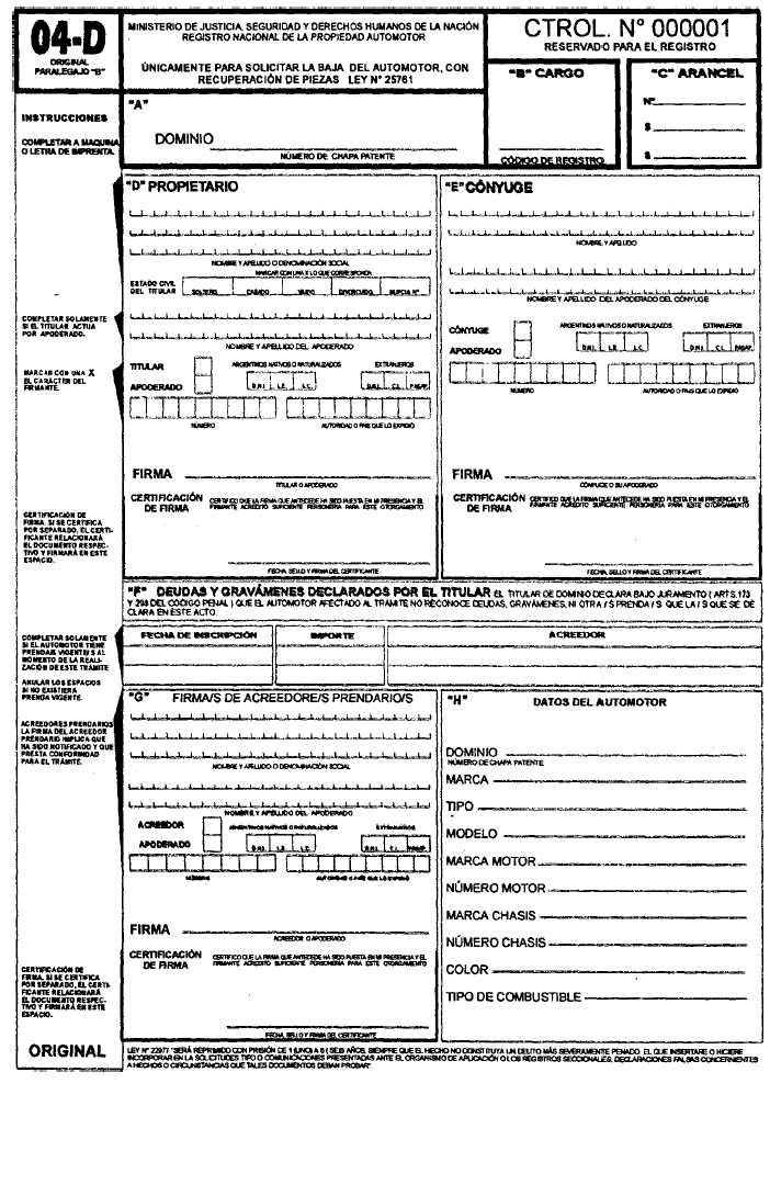 Como completar formulario 04+cambio de radicacion